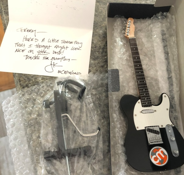 Mini Content Marketing World Guitar
