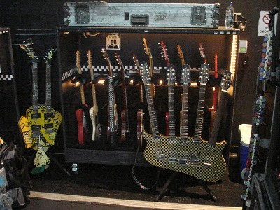 Collection of Rick Nielsen's Guitars