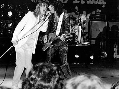 Robin Zander and Tom Petersson of Cheap Trick