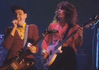 Rick Nielsen and Tom Petersson of Cheap Trick