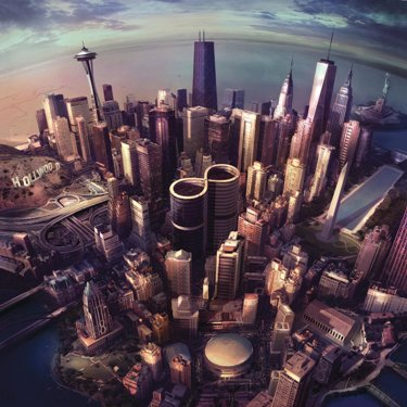 Foo Fighters Sonic Highways Album Cover