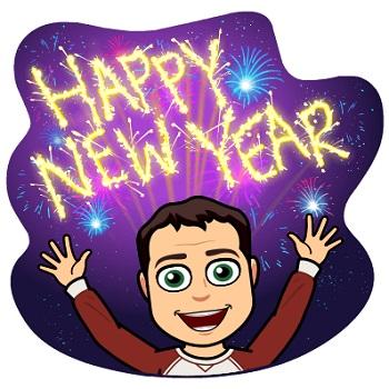 Happy New Year Emoji