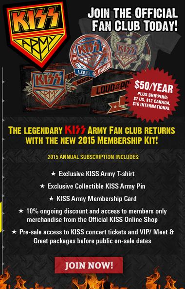 Kiss Army Ad