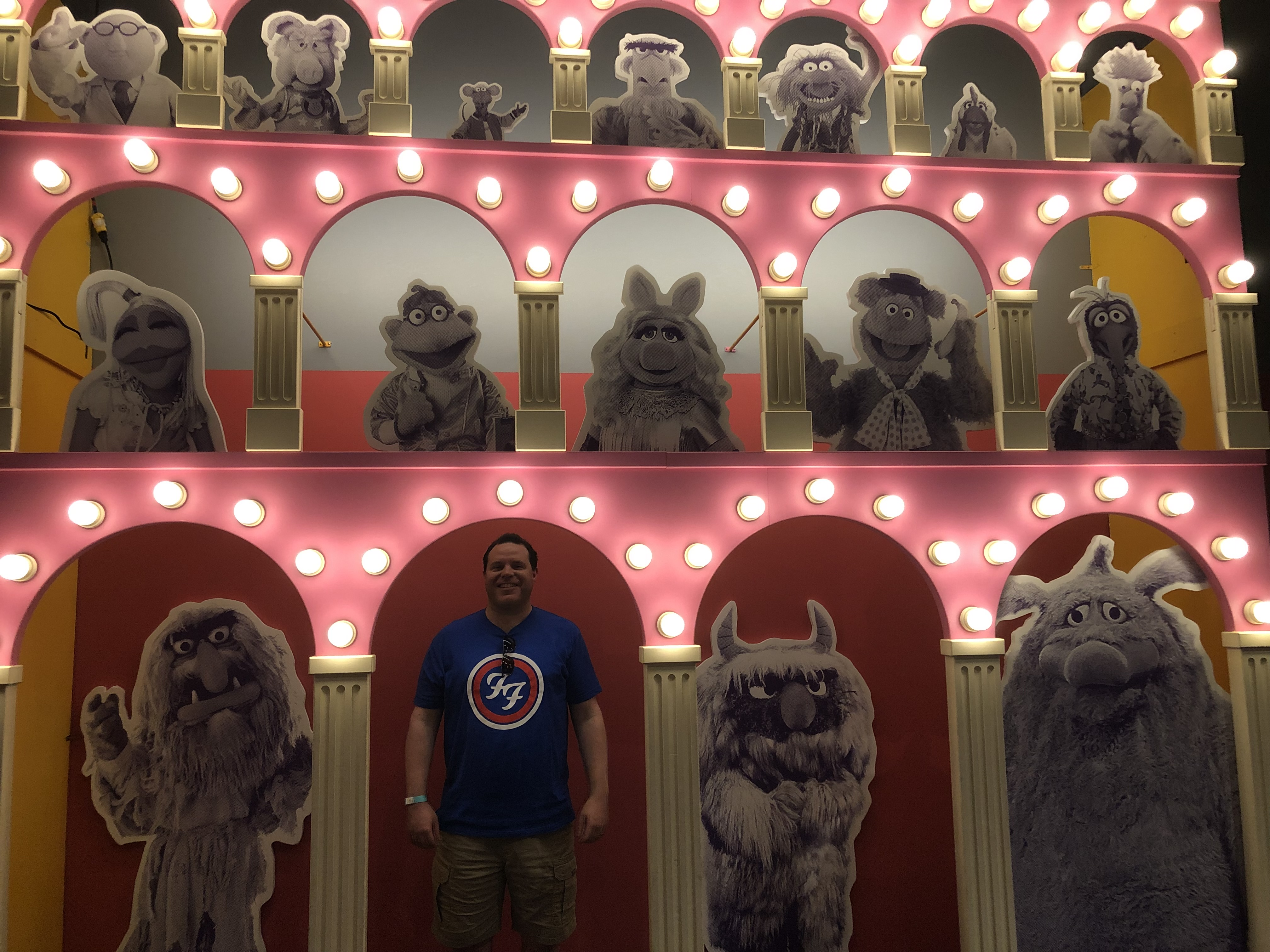 Me with the Muppet Show