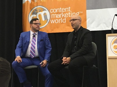 Mitch Joel and Jay Baer at Content Marketing World 2016