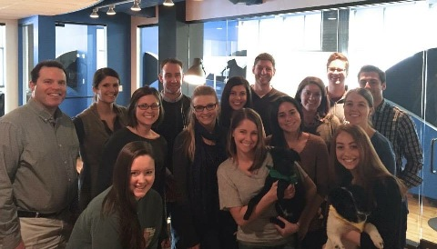 PR 20/20 Team with Puppies