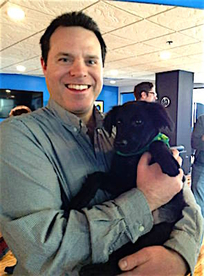 Me with a Puppy at PR 20/20