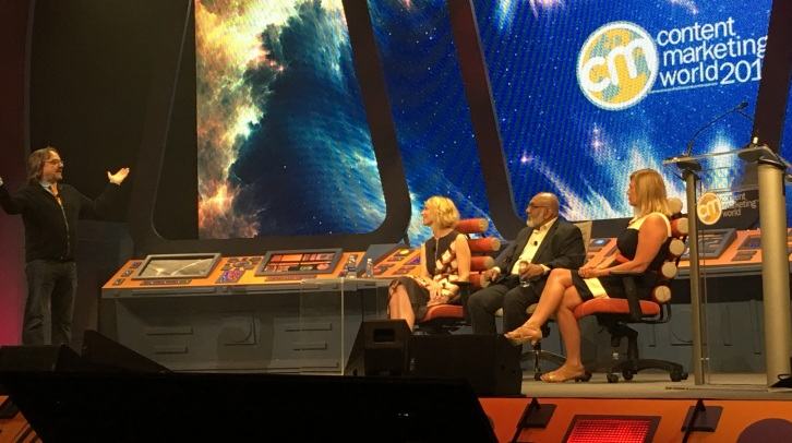Robert Rose Panel at Content Marketing World 2016
