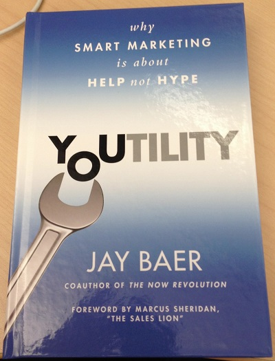 Youtility Book Cover by Jay Baer