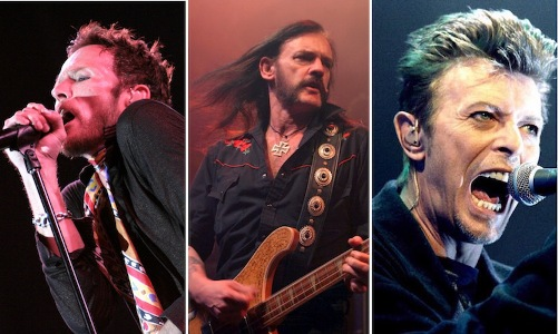 Scott Weiland, Lemmy, David Bowie - Rock Band Franchising
