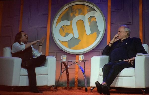 Robert Rose Interviewing John Cleese at Content Marketing World 2015
