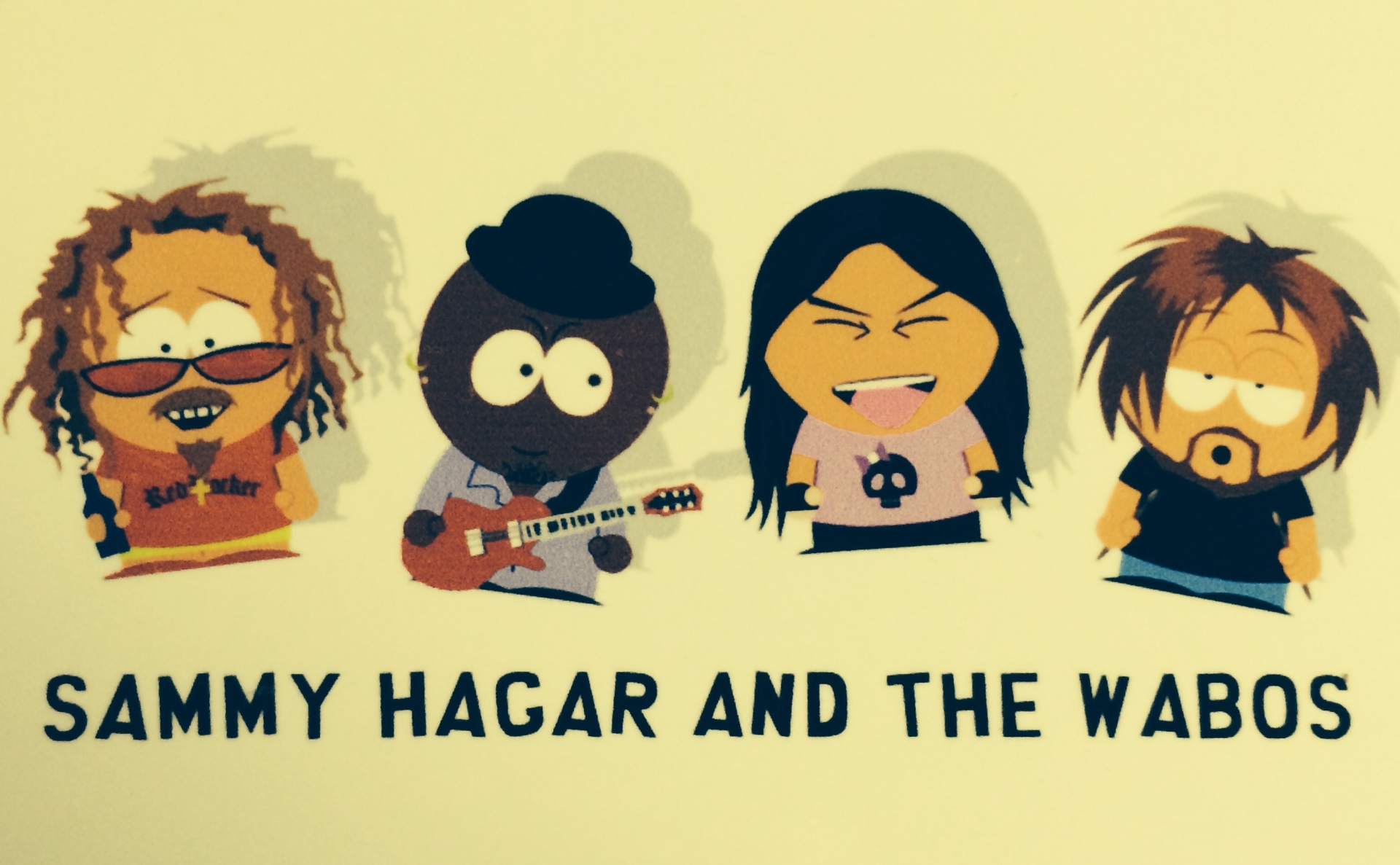 Sammy Hagar and the Waboritas - South Park Style