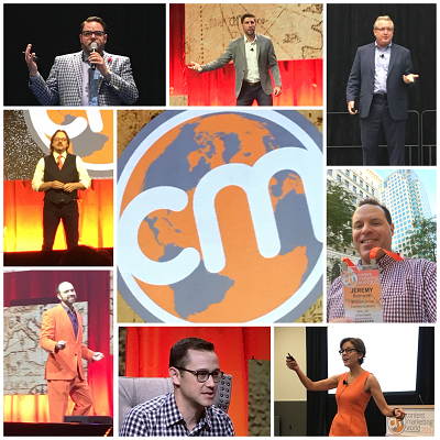 Collage of Photos from Content Marketing World 2017