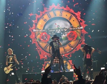 Guns n' Roses in Concert in Cleveland