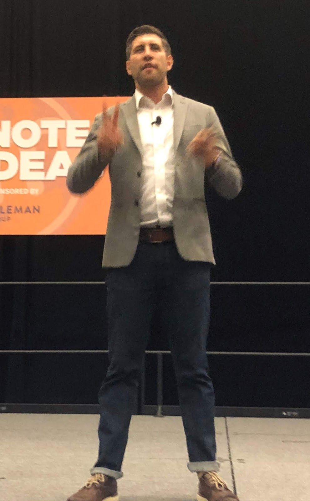 Jay Acunzo at Content Marketing World 2018