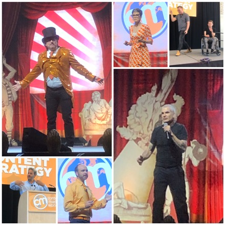 Photo Collage of Content Marketing World 2019