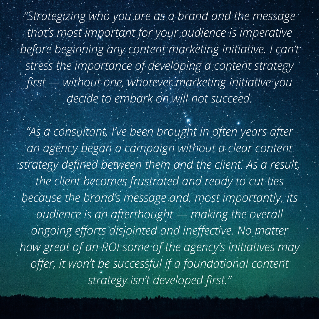 Beth Kapes Content Marketing Strategy Quote