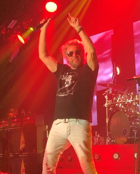 Sammy Hagar in Concert in Cleveland
