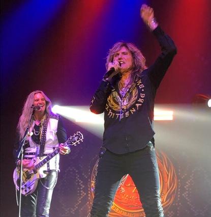 Whitesnake in Concert in Cleveland